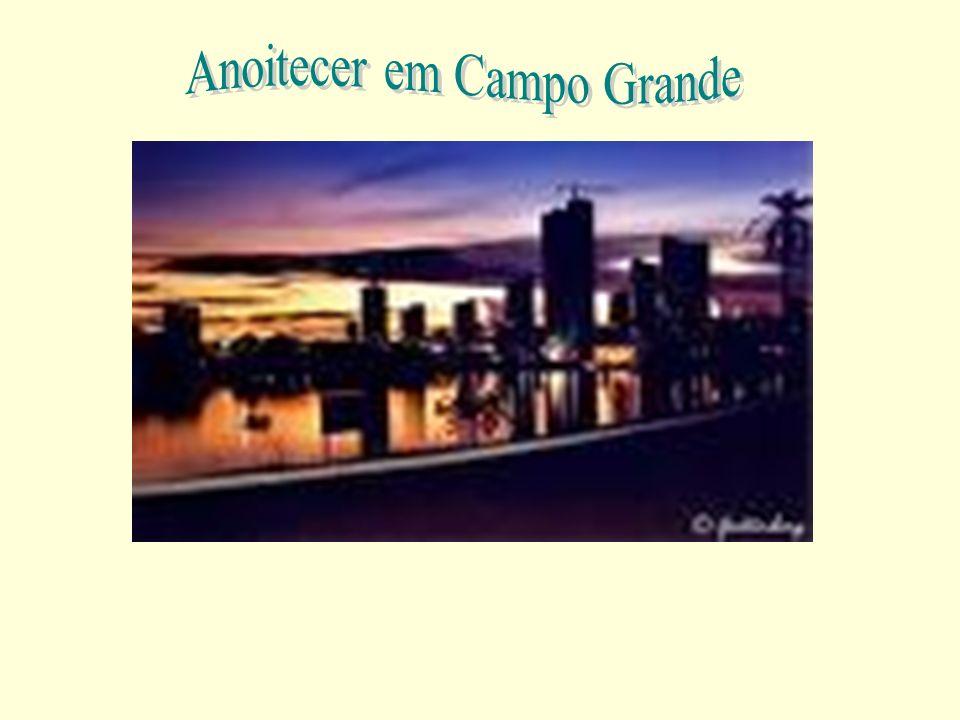 Anoitecer em Campo Grande