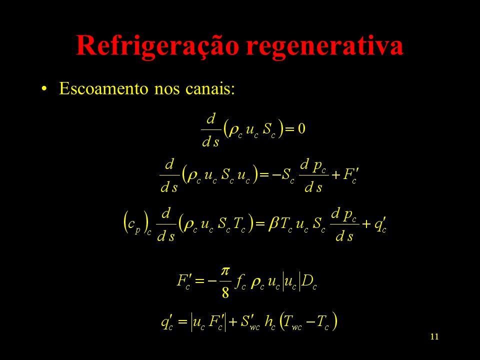 Refrigeração regenerativa