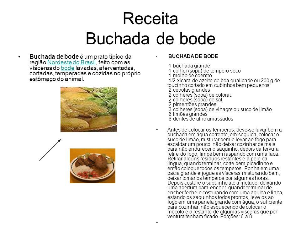 Receita Buchada de bode