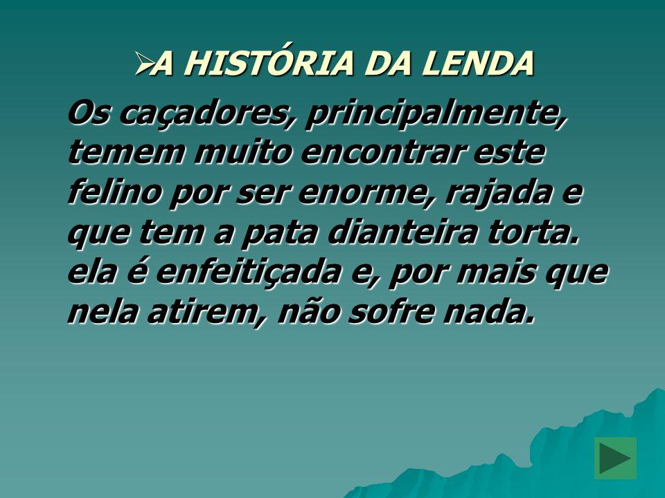 A HISTÓRIA DA LENDA