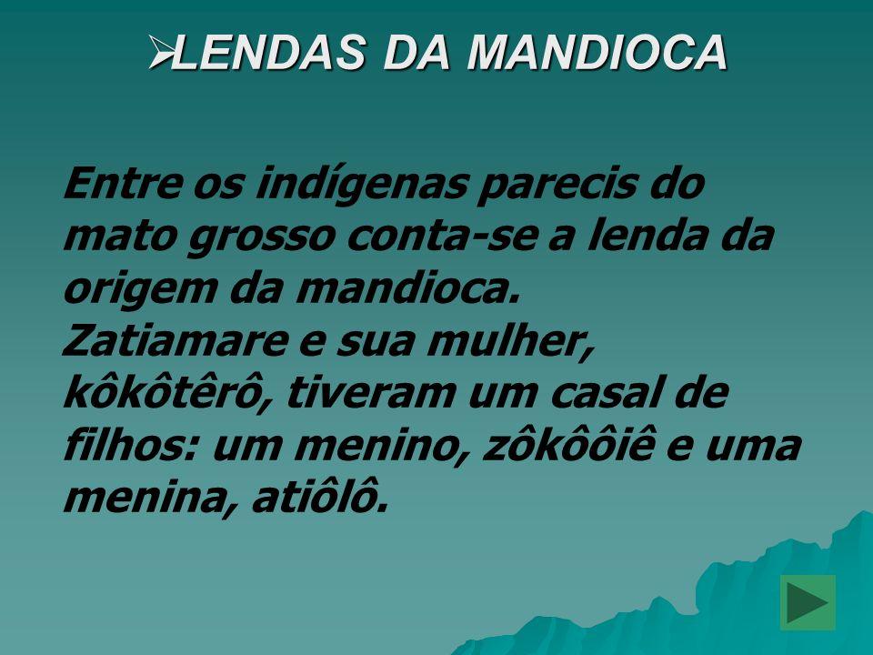 LENDAS DA MANDIOCA