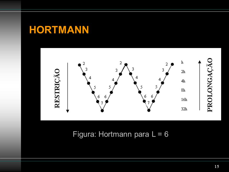 Figura: Hortmann para L = 6