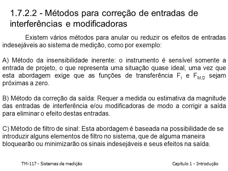1.7.2.2 - Métodos para correção de entradas de interferências e modificadoras