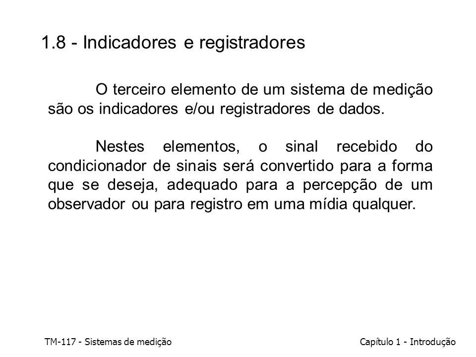 1.8 - Indicadores e registradores