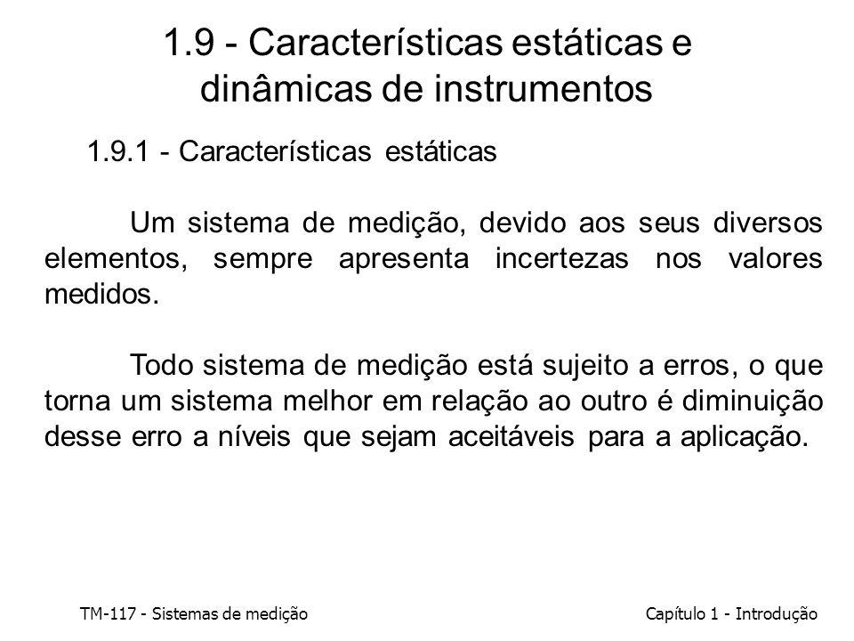 1.9 - Características estáticas e dinâmicas de instrumentos