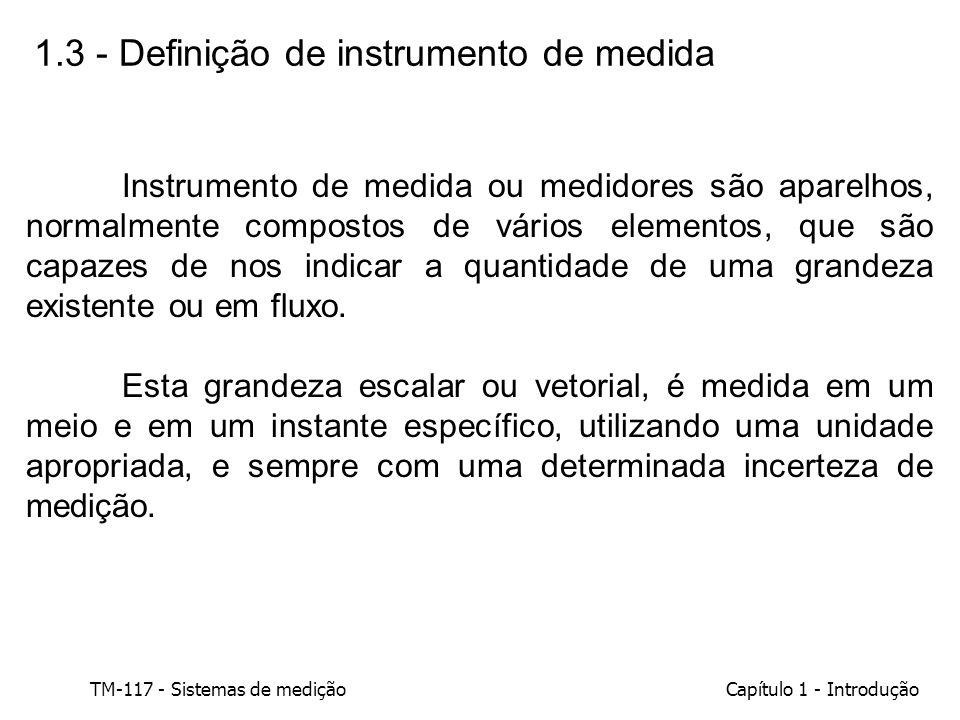 1.3 - Definição de instrumento de medida