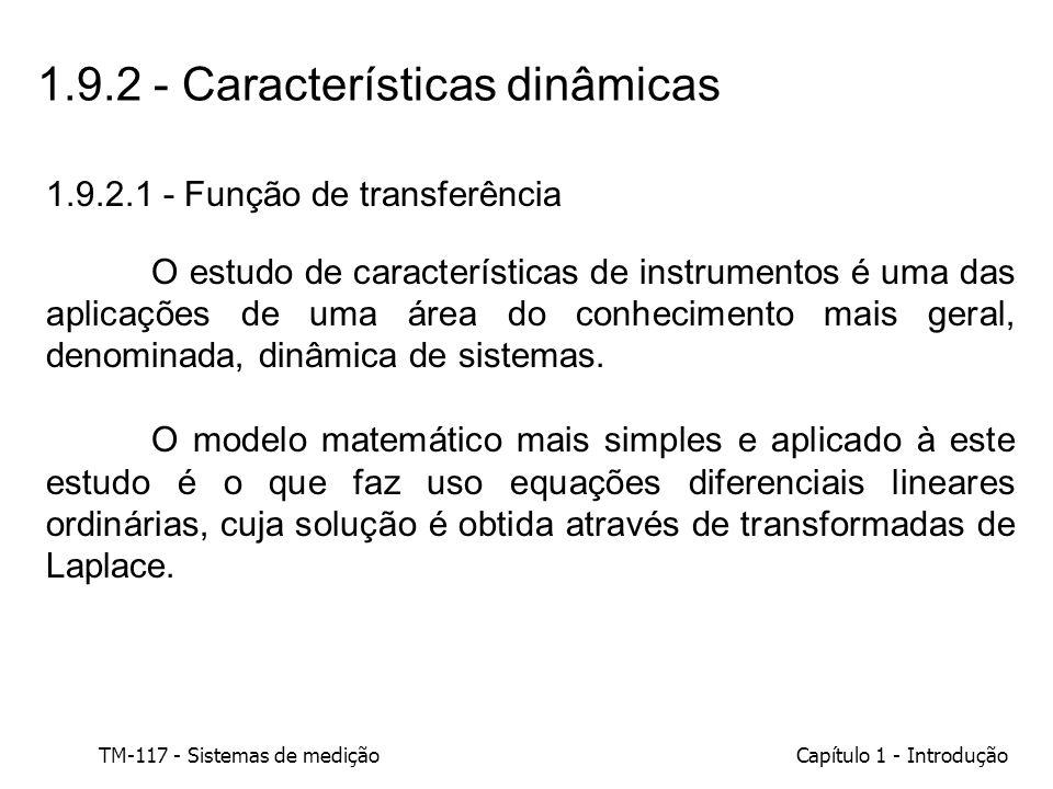 1.9.2 - Características dinâmicas