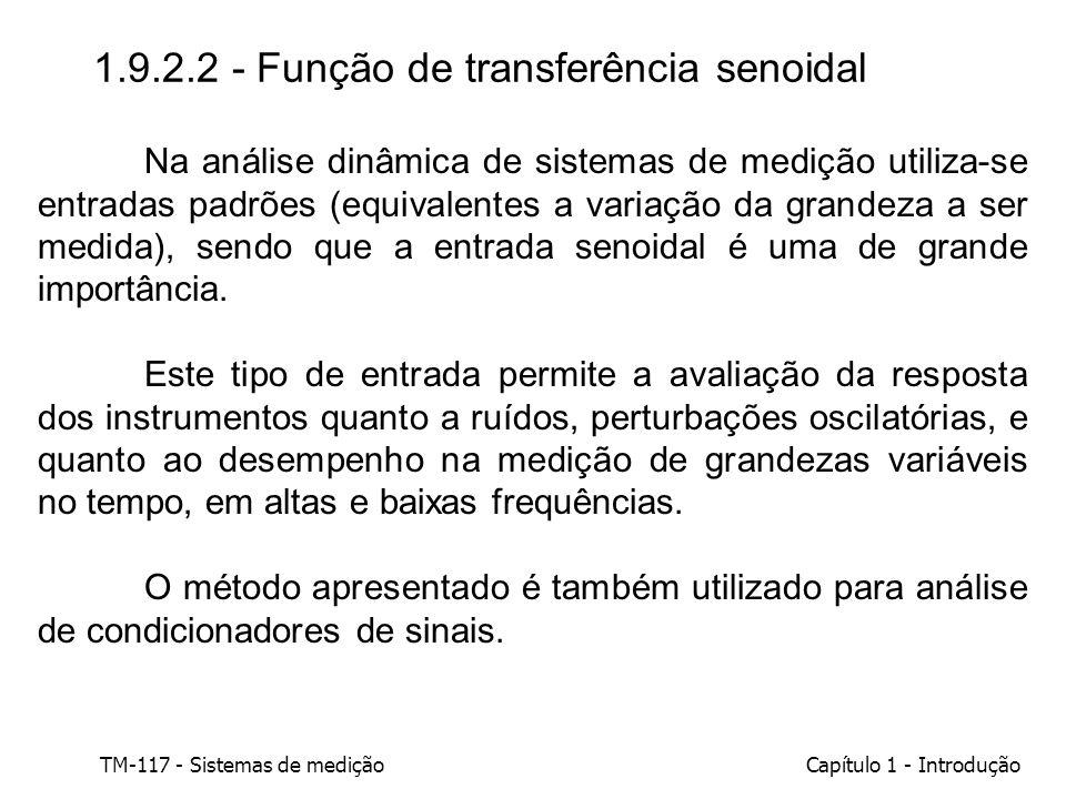1.9.2.2 - Função de transferência senoidal