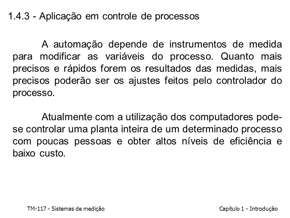 1.4.3 - Aplicação em controle de processos