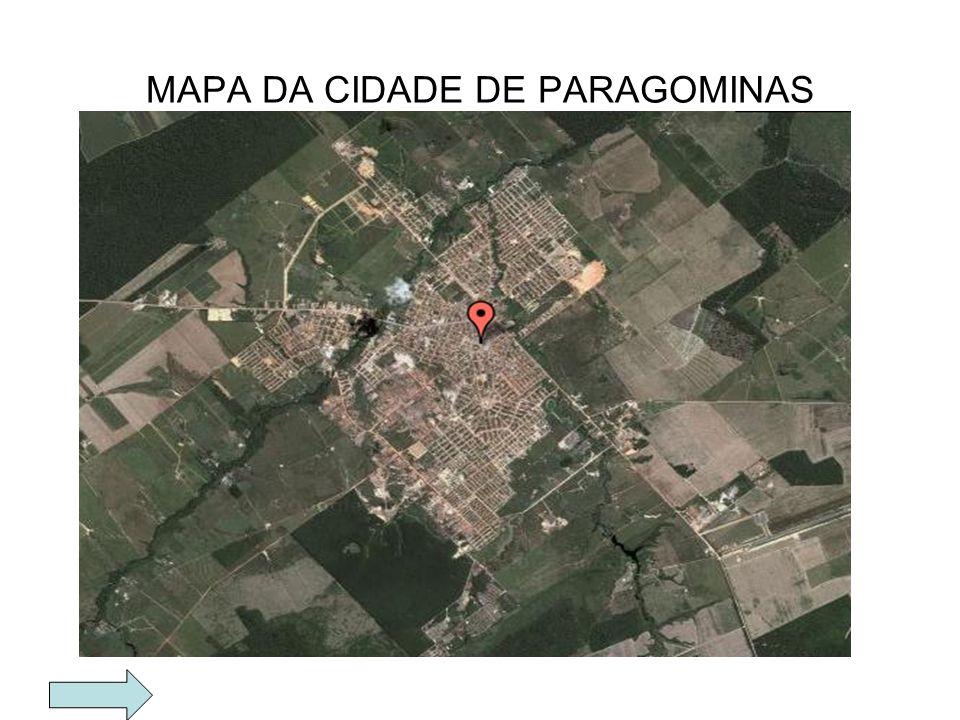 MAPA DA CIDADE DE PARAGOMINAS