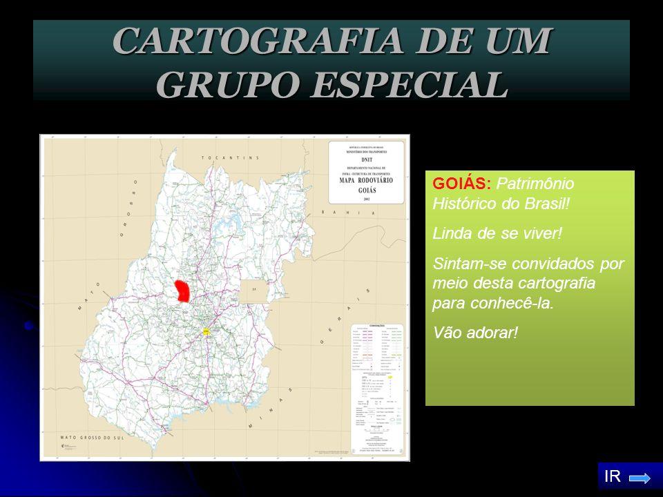 CARTOGRAFIA DE UM GRUPO ESPECIAL