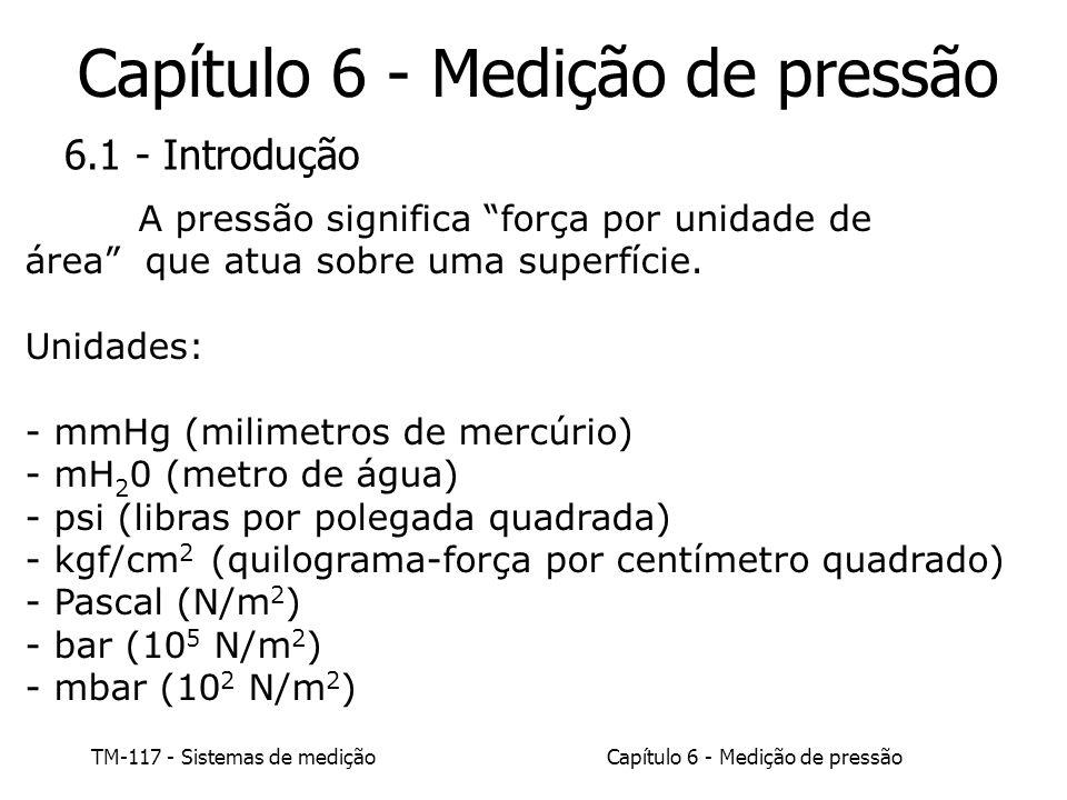 Capítulo 6 - Medição de pressão