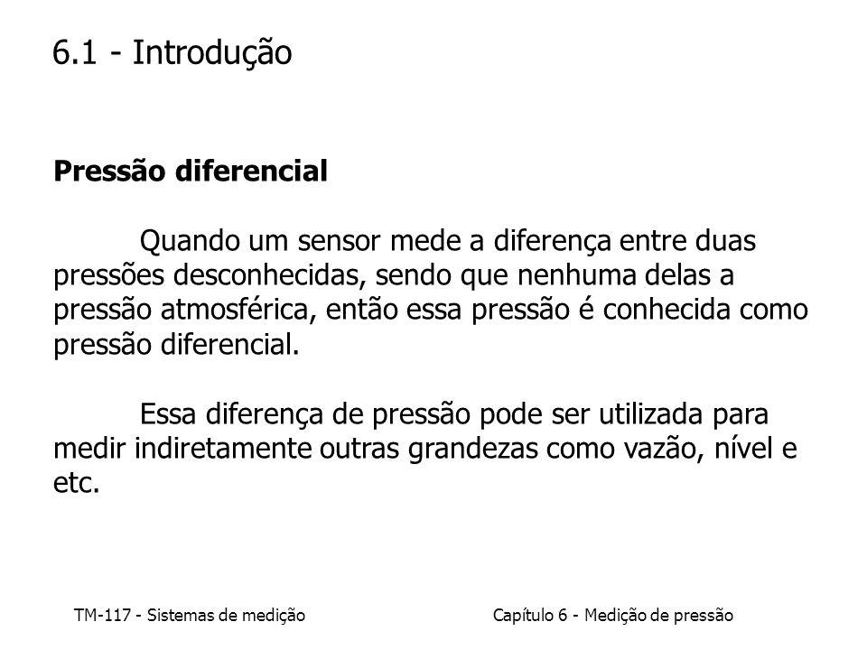 6.1 - Introdução Pressão diferencial