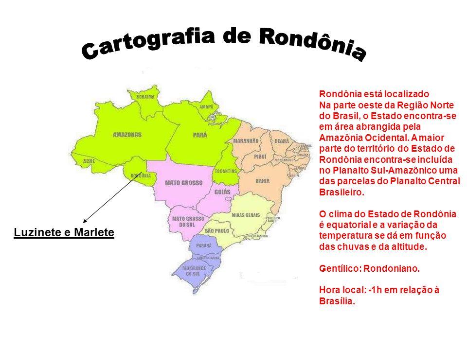 Cartografia de Rondônia
