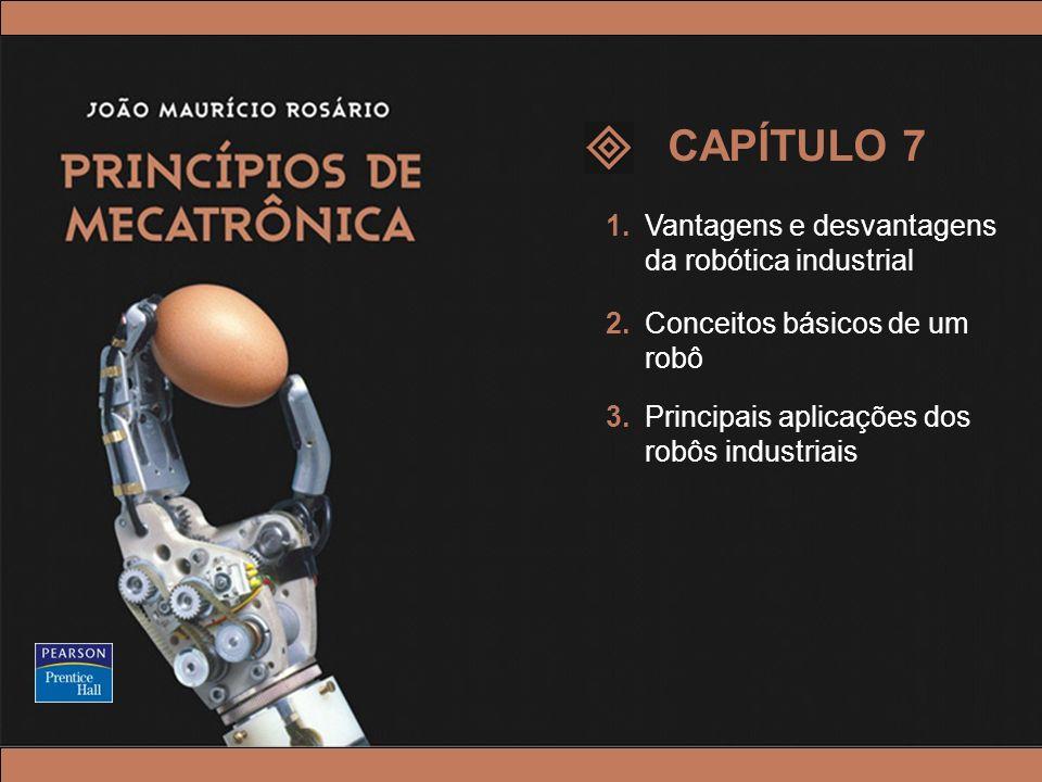CAPÍTULO 7 1. Vantagens e desvantagens da robótica industrial