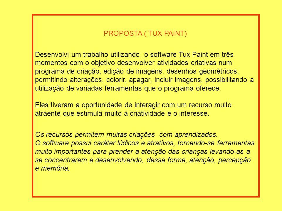PROPOSTA ( TUX PAINT)