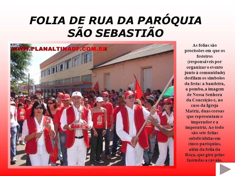 FOLIA DE RUA DA PARÓQUIA SÃO SEBASTIÃO