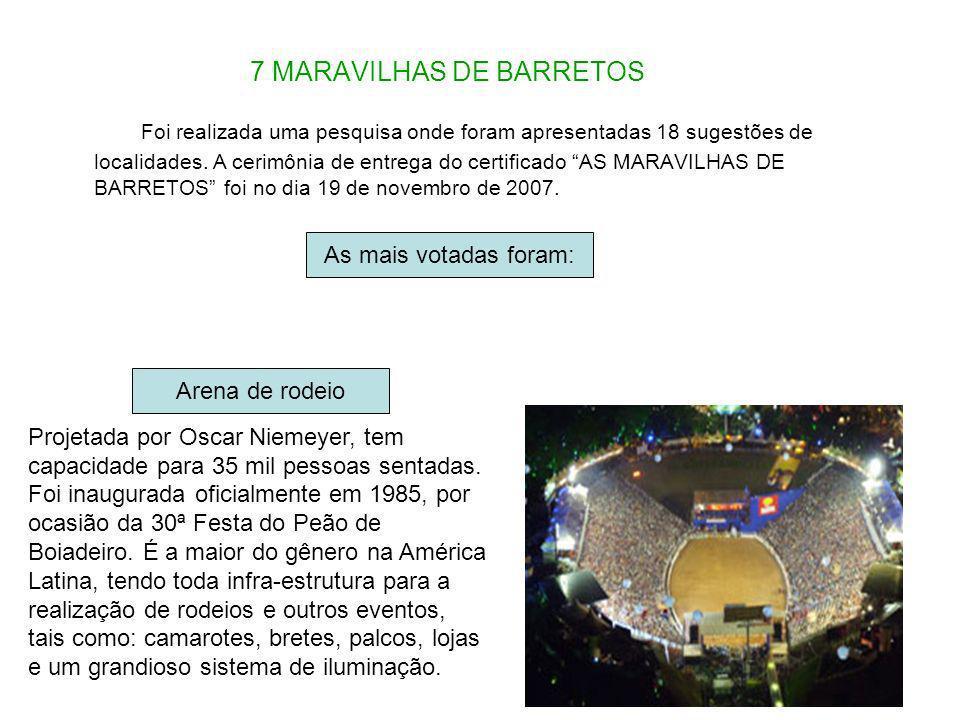 7 MARAVILHAS DE BARRETOS