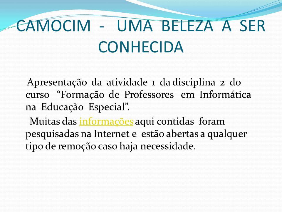 CAMOCIM - UMA BELEZA A SER CONHECIDA
