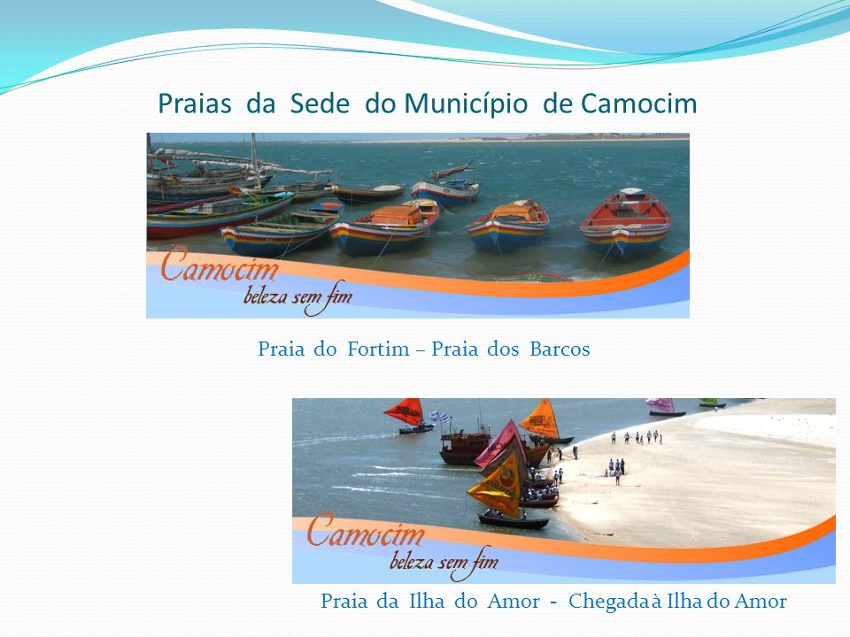 Praias da Sede do Município de Camocim