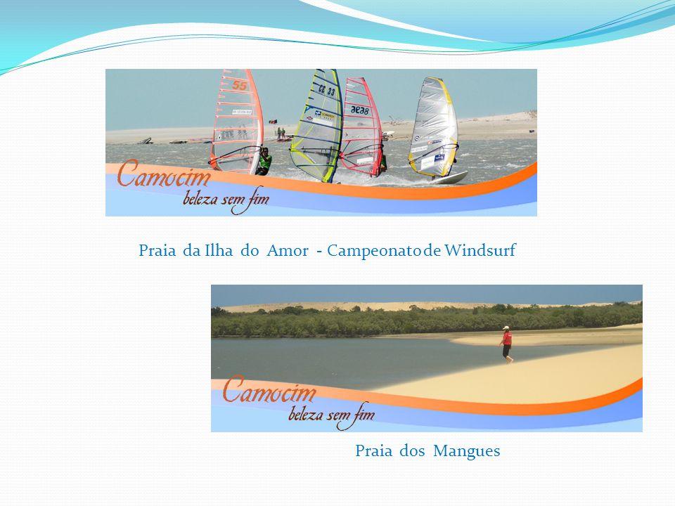 Praia da Ilha do Amor - Campeonato de Windsurf