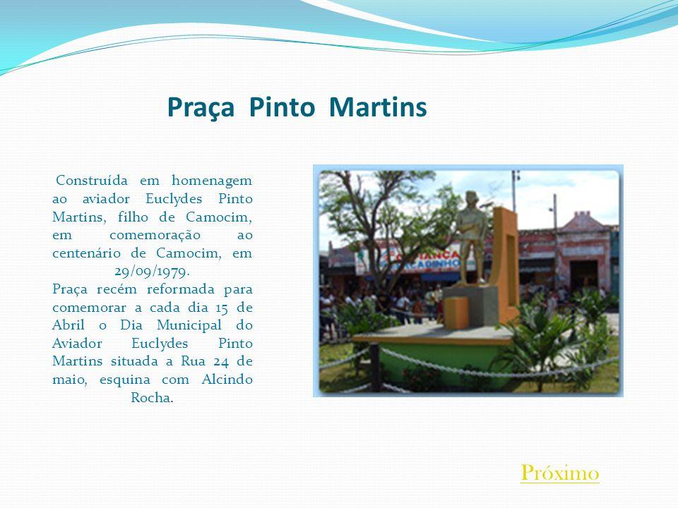 Praça Pinto Martins Próximo