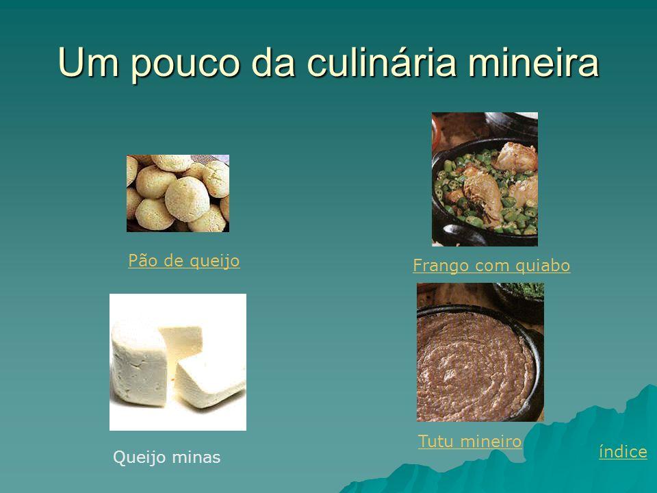 Um pouco da culinária mineira