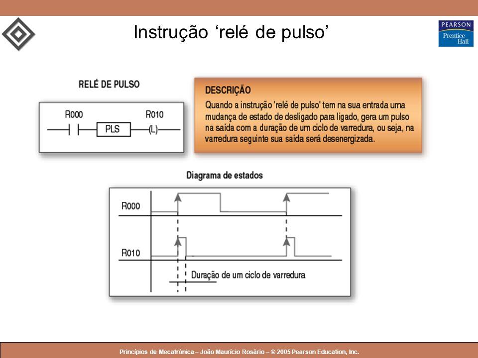 Instrução 'relé de pulso'
