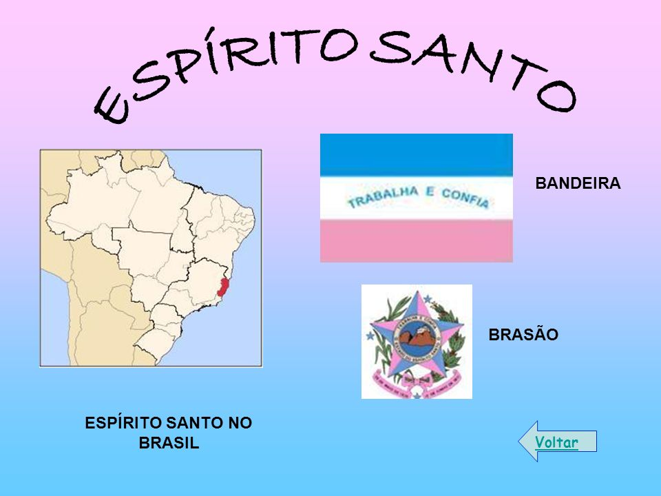 ESPÍRITO SANTO NO BRASIL