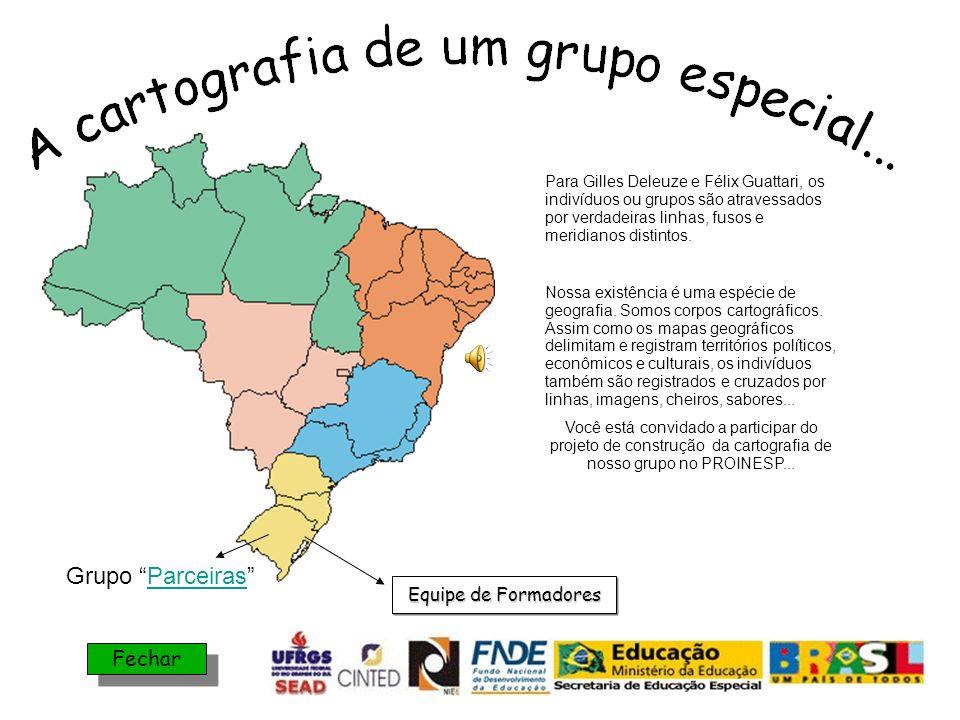 Grupo Parceiras Fechar Equipe de Formadores