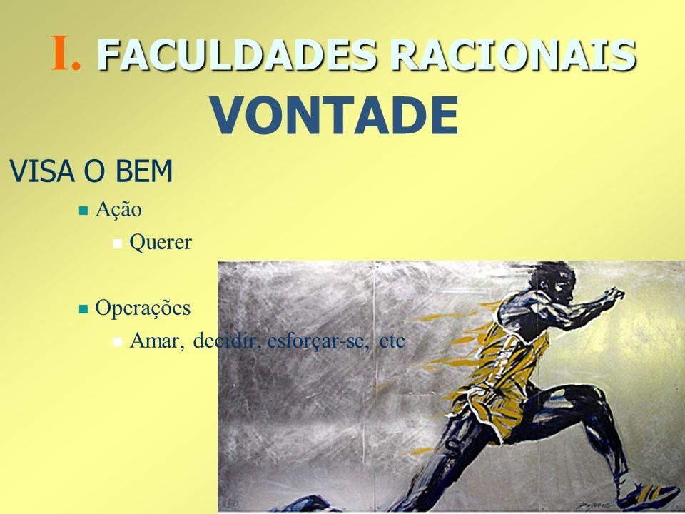 I. FACULDADES RACIONAIS