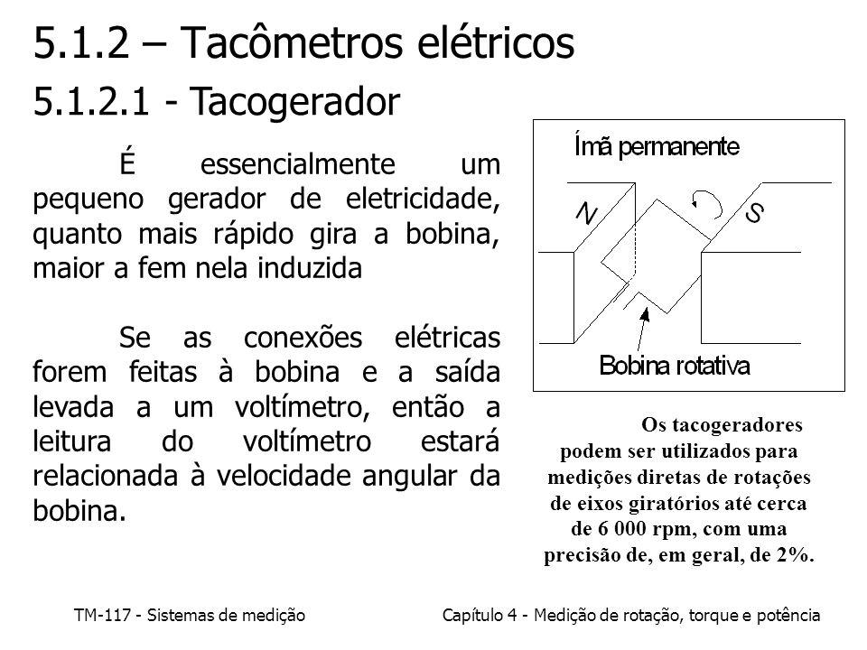 5.1.2 – Tacômetros elétricos