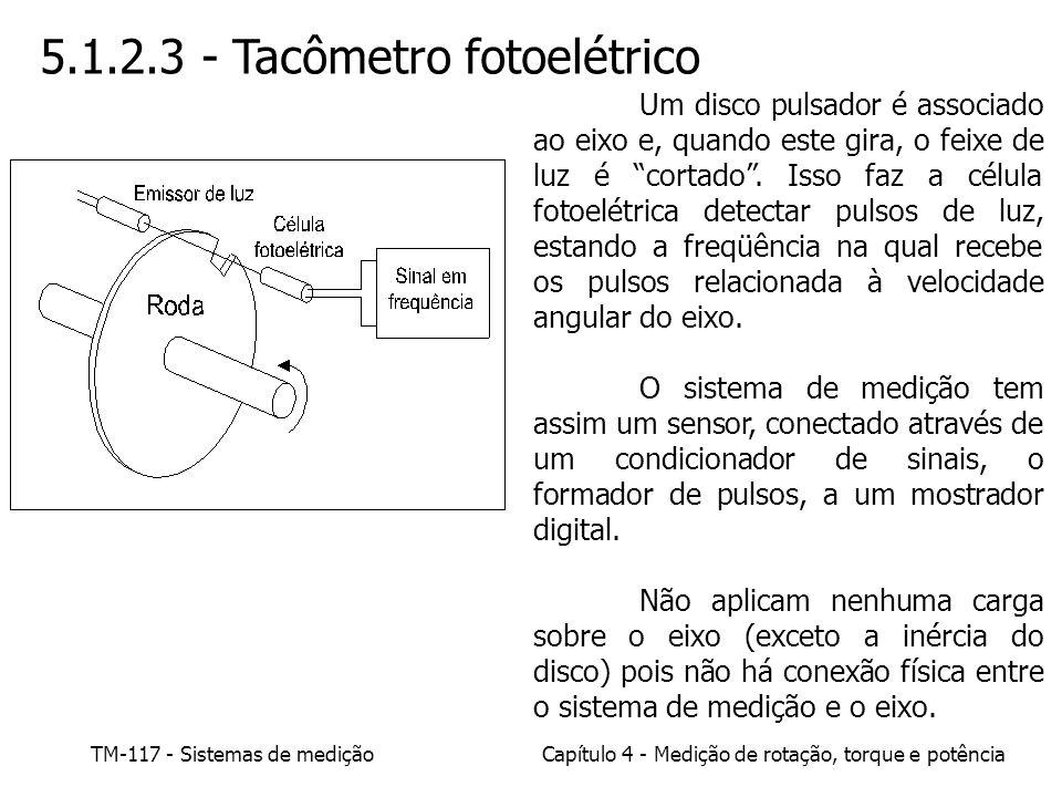 5.1.2.3 - Tacômetro fotoelétrico