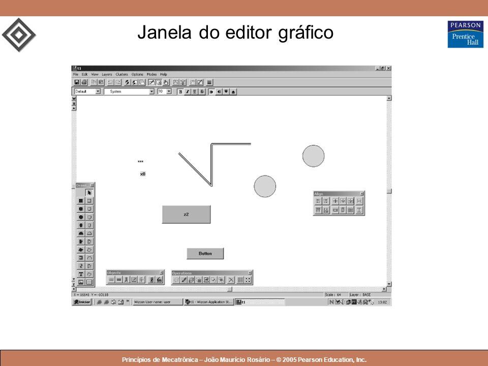 Janela do editor gráfico