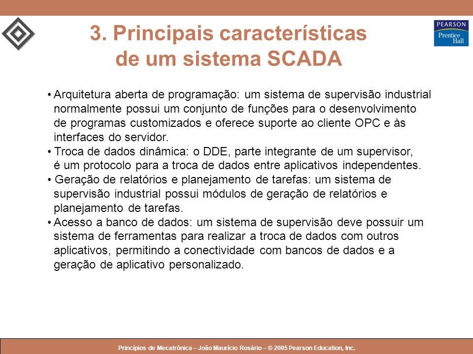3. Principais características de um sistema SCADA