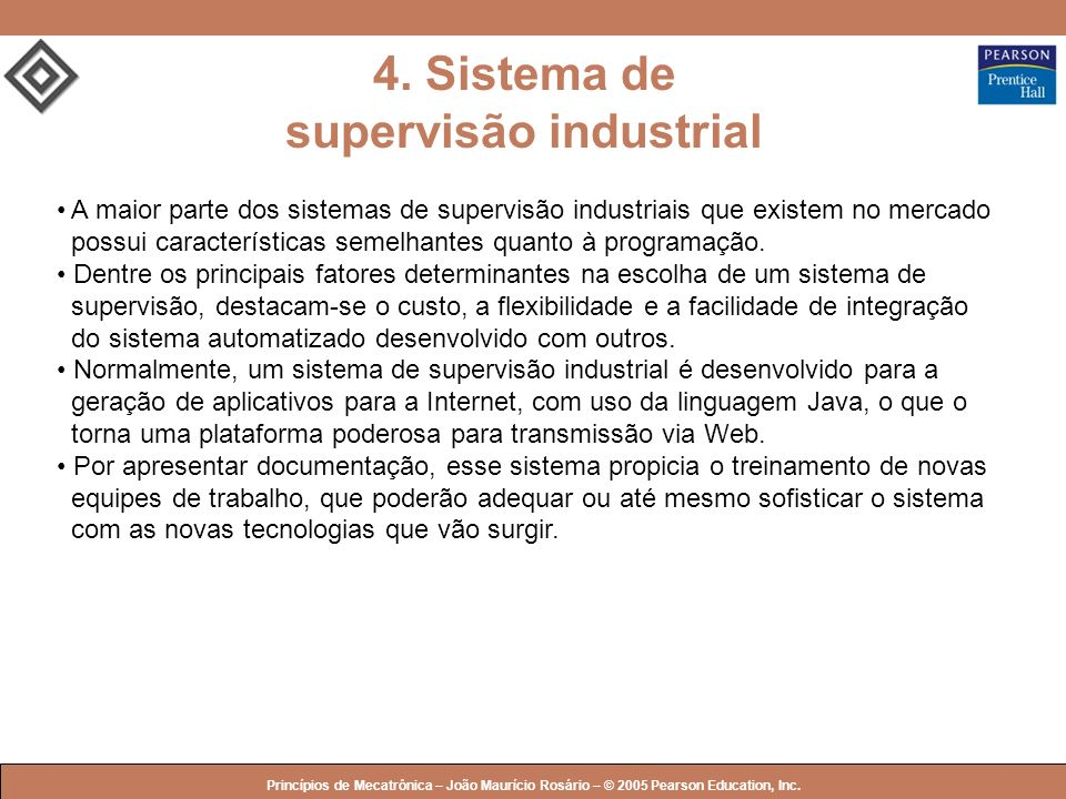 4. Sistema de supervisão industrial