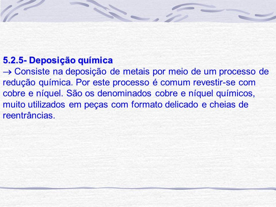 5.2.5- Deposição química