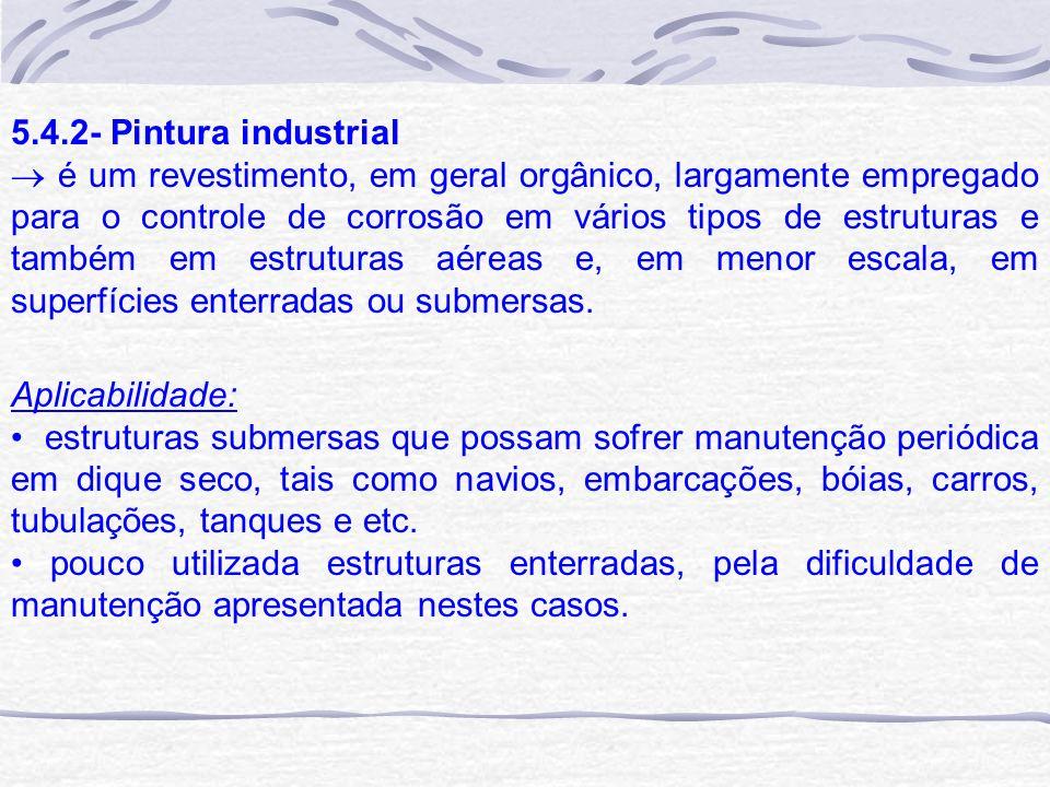 5.4.2- Pintura industrial
