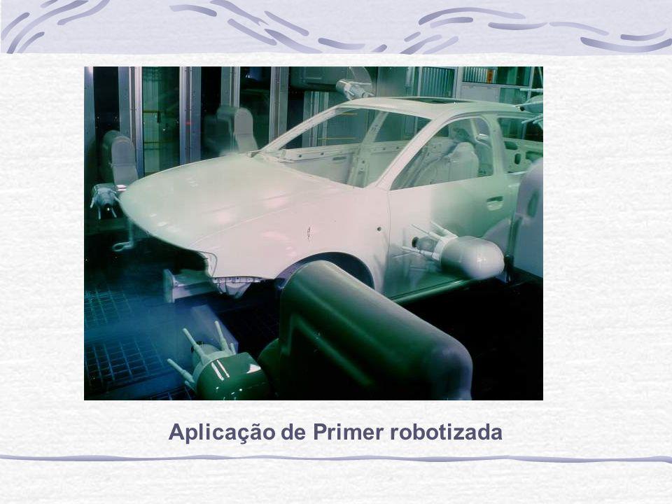 Aplicação de Primer robotizada
