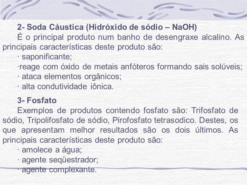2- Soda Cáustica (Hidróxido de sódio – NaOH)