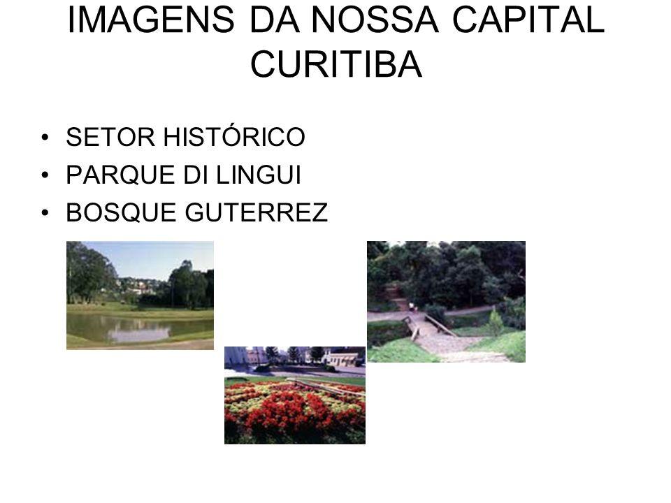 IMAGENS DA NOSSA CAPITAL CURITIBA