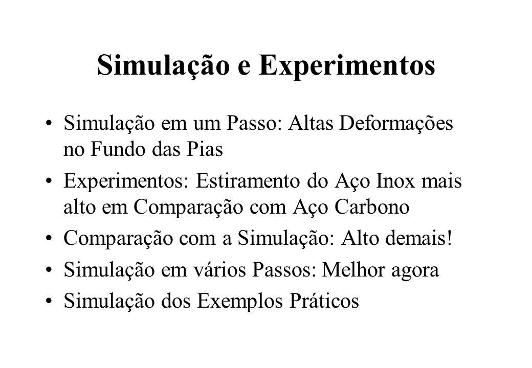 Simulação e Experimentos