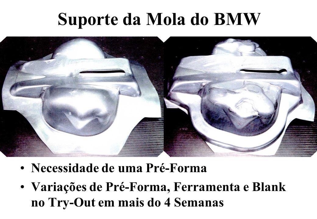 Suporte da Mola do BMW Necessidade de uma Pré-Forma