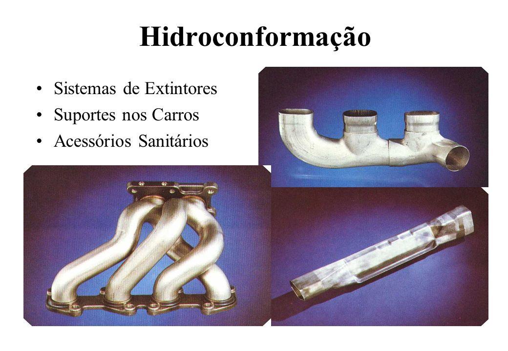 Hidroconformação Sistemas de Extintores Suportes nos Carros