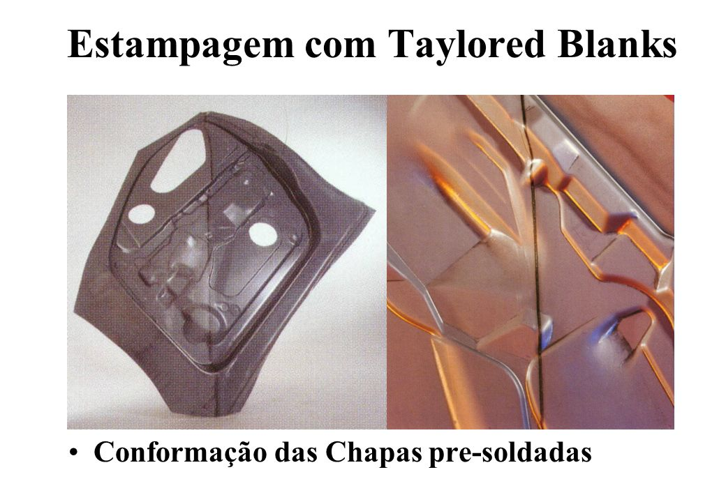 Estampagem com Taylored Blanks
