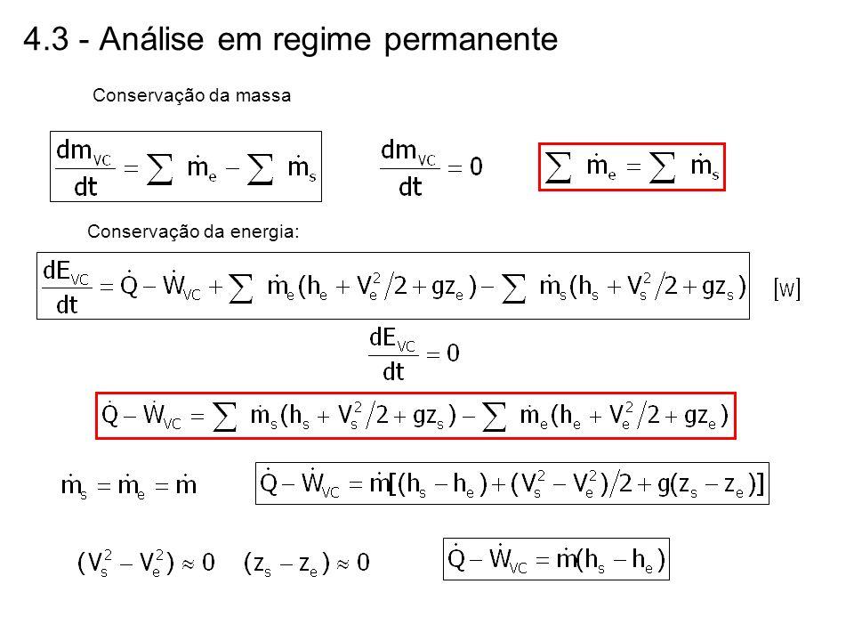 4.3 - Análise em regime permanente