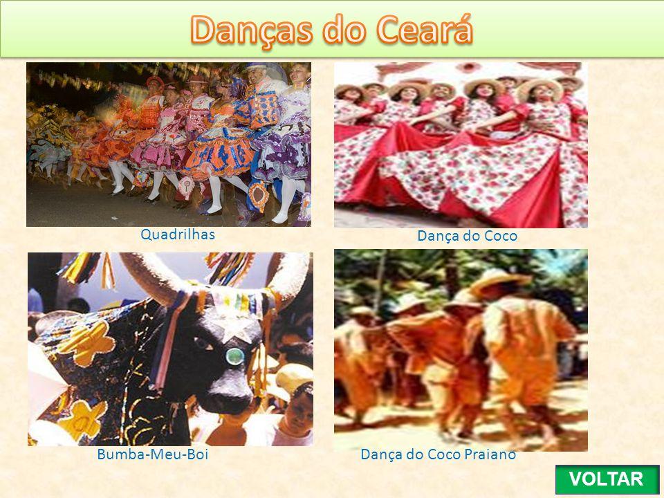 Danças do Ceará VOLTAR Quadrilhas Dança do Coco Bumba-Meu-Boi
