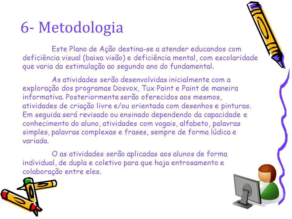 6- Metodologia