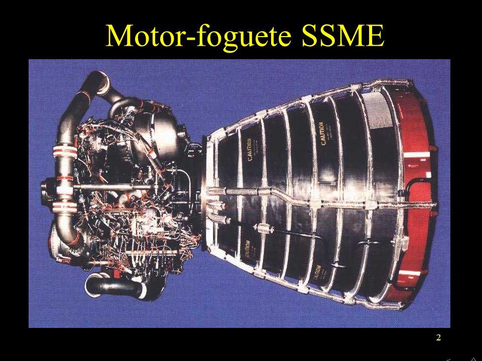 Motor-foguete SSME ^ <