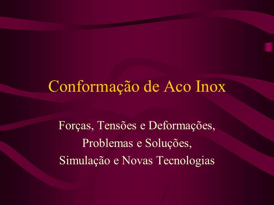 Conformação de Aco Inox